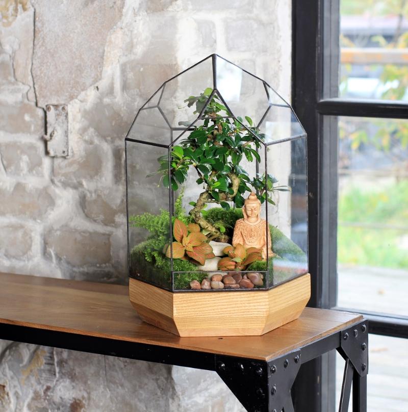 Стильное украшение вашего дома — флорариумы своими руками