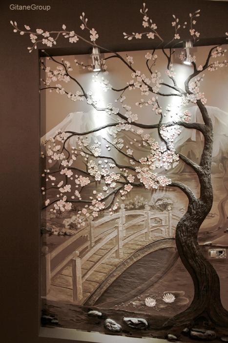 Как сделать объемное дерево на стену своими руками