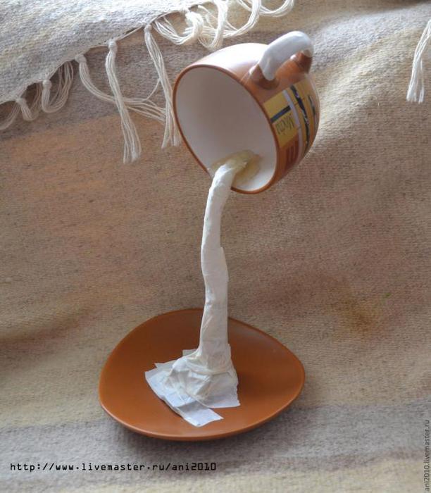 Блюдце с чашкой кофе своими руками мастер класс