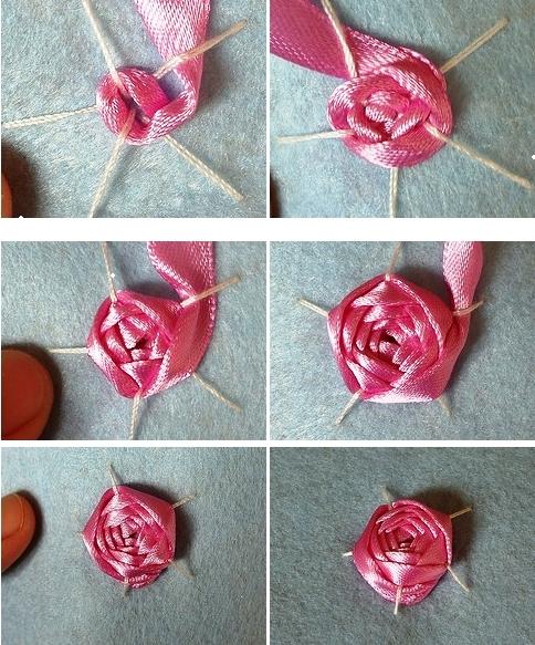 Как вышивать лентами своими руками 23