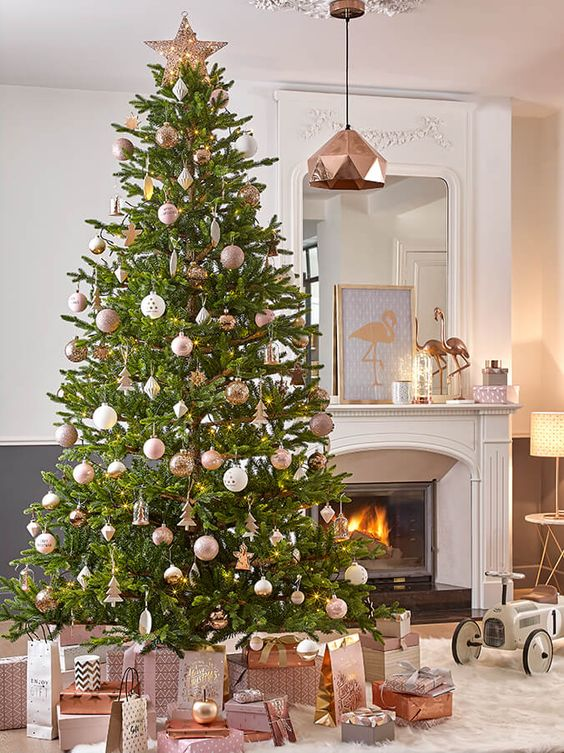 12-copper-and-white-for-decorating-christmas-is-very-chic