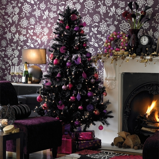 15-a-dark-tree-with-purple-pink-and-fuchsia-ornaments-for-different-decor