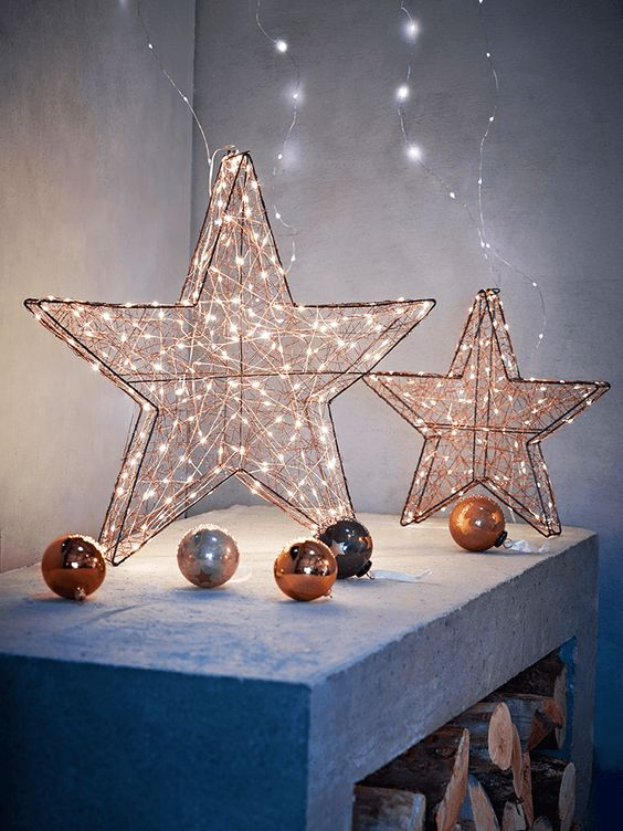 25-copper-lit-up-stars-and-ornaments-for-decor