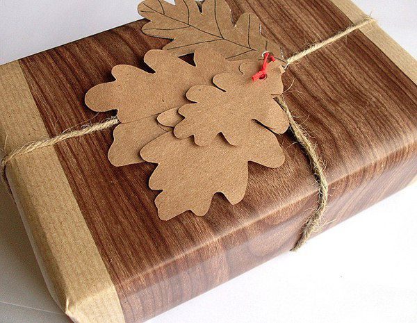 wood grain wrapping paper