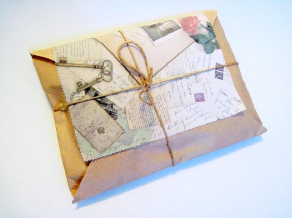 Упаковка подарков картина 9