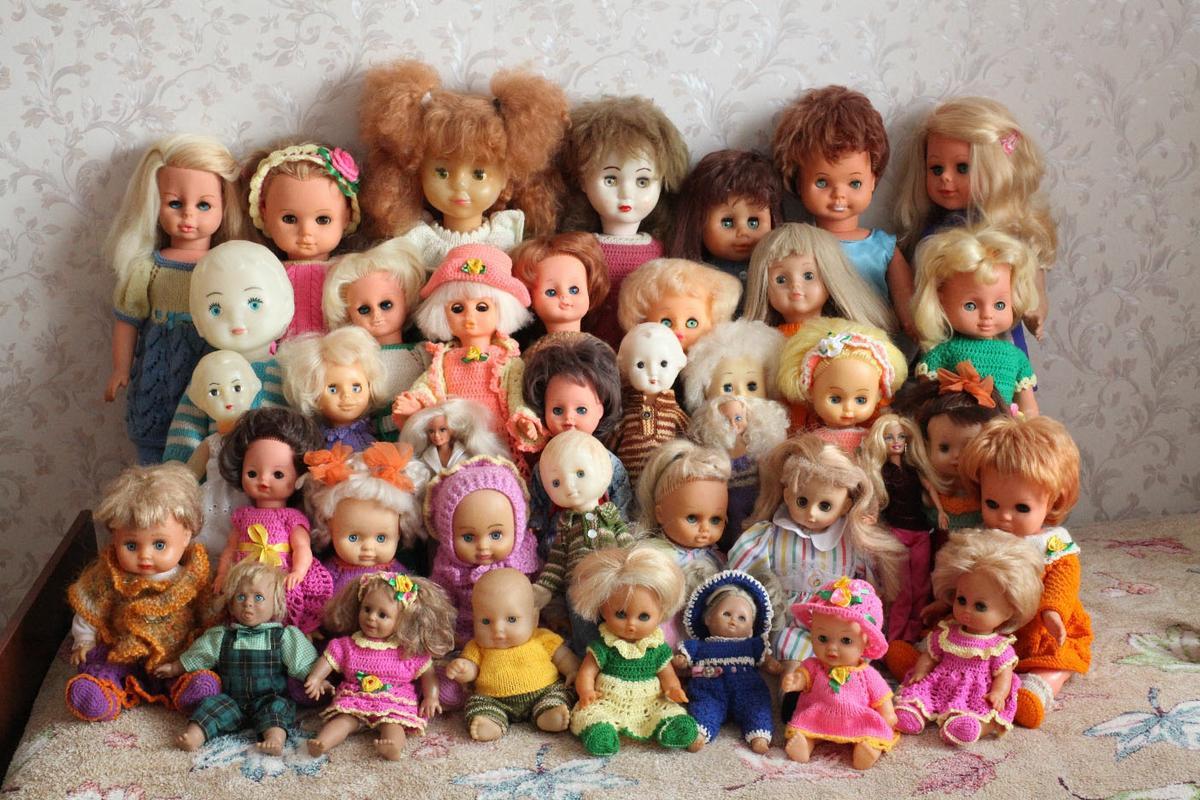 Куклы советского времени фото