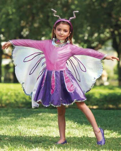 Костюм бабочки для девочки своими руками фото быстро и красиво 91