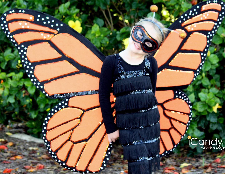 Как сделать бабочку для костюма своими руками