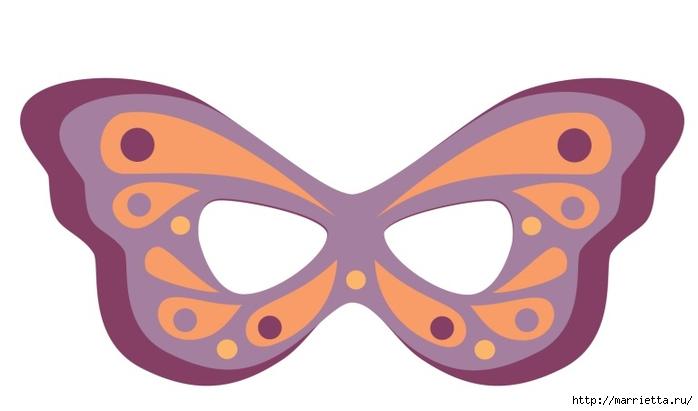 Сделать своими руками детские маски