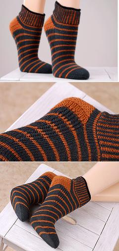 Вязание носков укрепление пятки 77