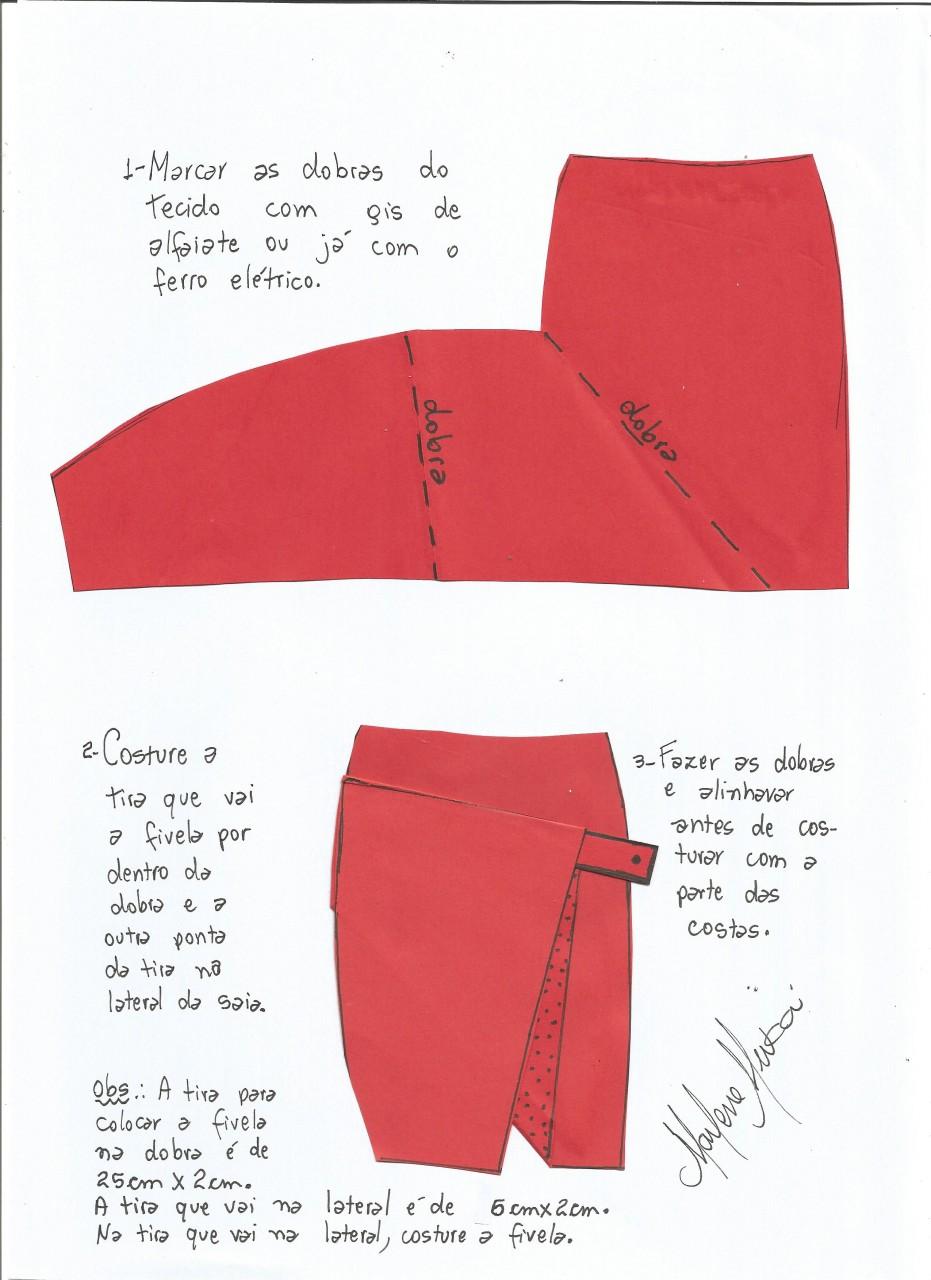 Как сшить юбку просто и без выкроек по видео