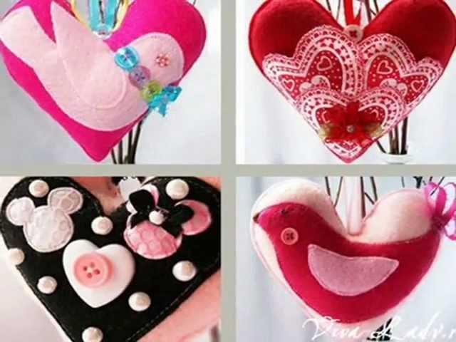 Какой подарок к дню святого валентина своими руками