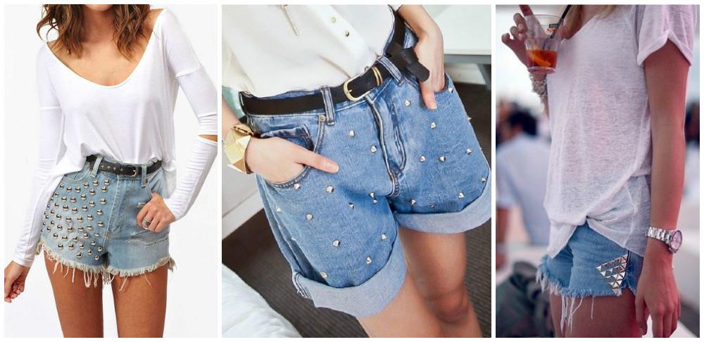 Как обновить джинсовые шорты