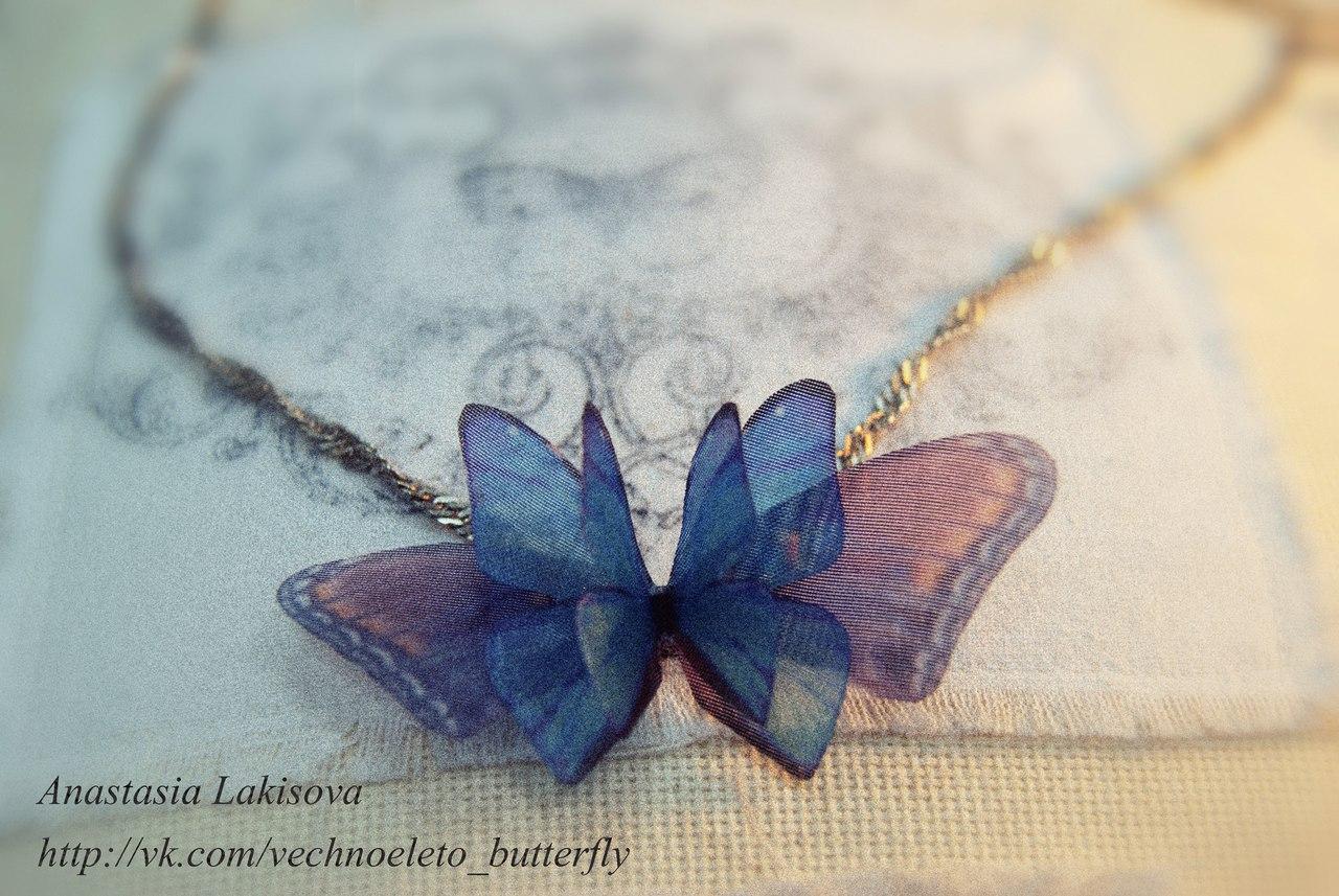 Бабочки своими руками из шелка фото 848