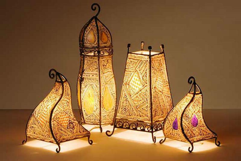 Восточные светильники своими руками
