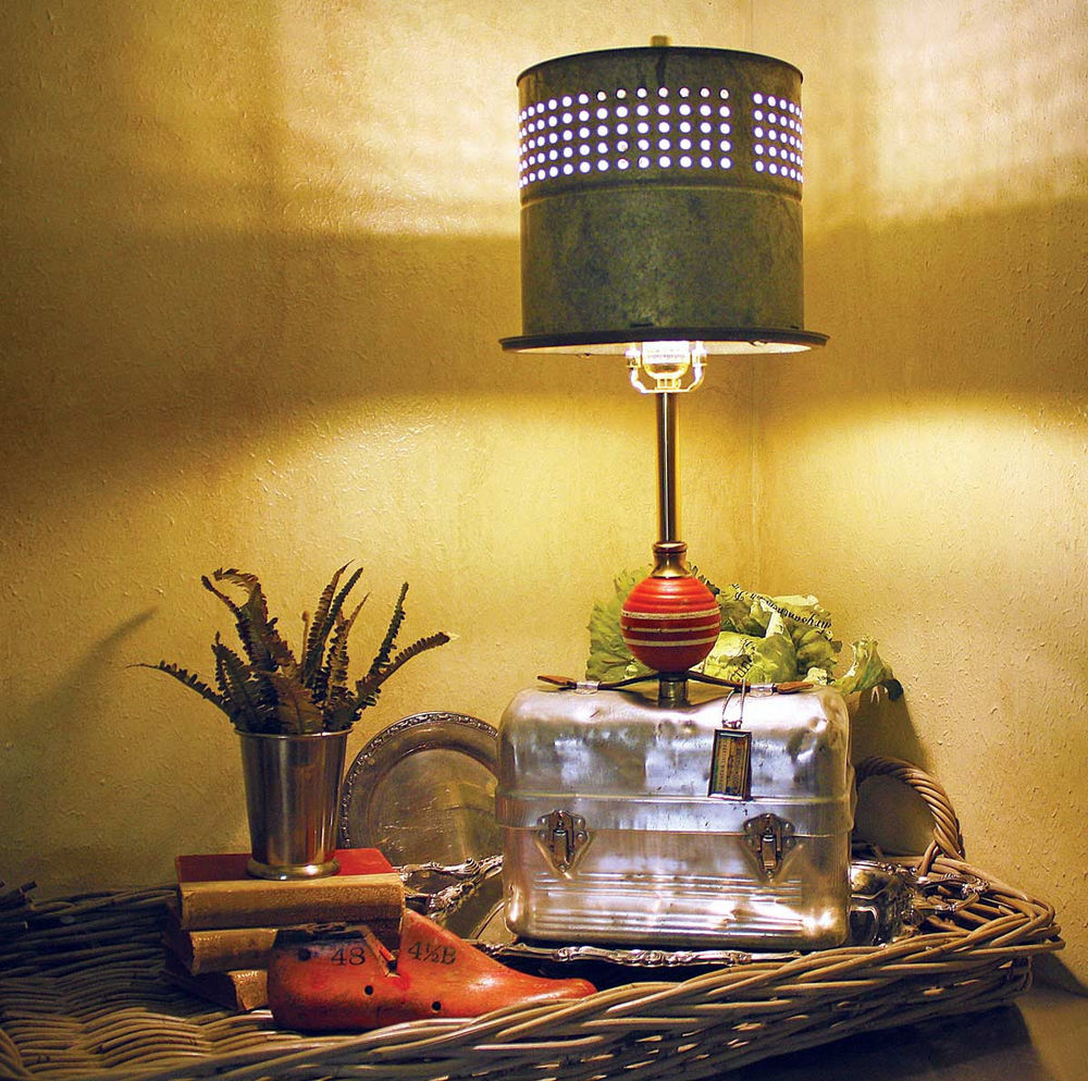 Настольная лампа своими руками: как сделать, абажур, идеи и 3