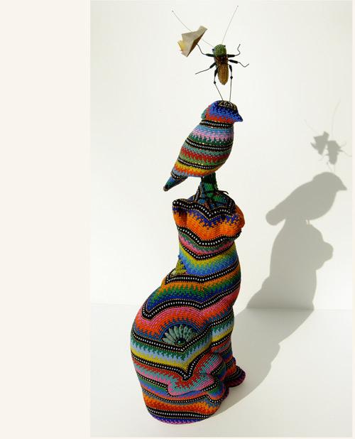 Бисерный поп-арт от Jan Huling