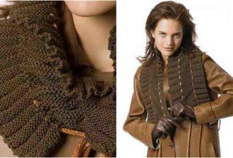 шарф-воротник