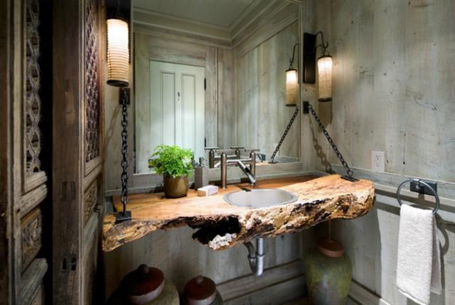 Мебель и аксессуары из дерева-7