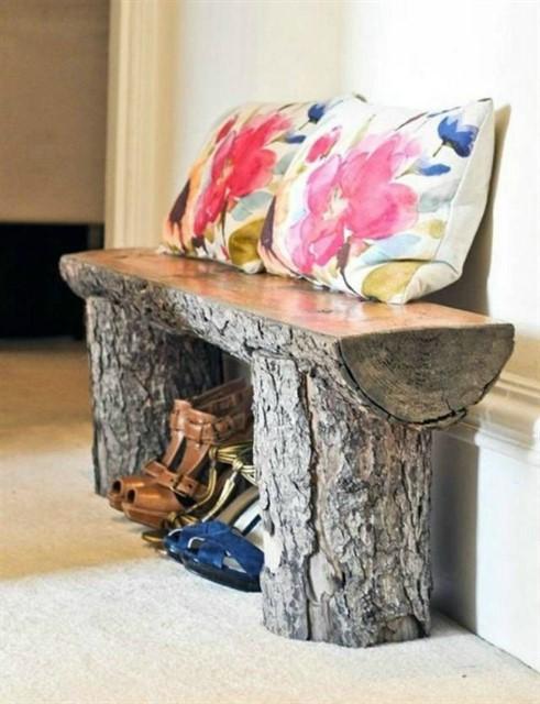 Мебель и аксессуары из дерева-8