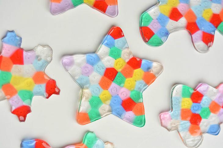Необычные елочные игрушки из бусин