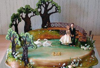 свадебные торты Жанны Зубовой 01