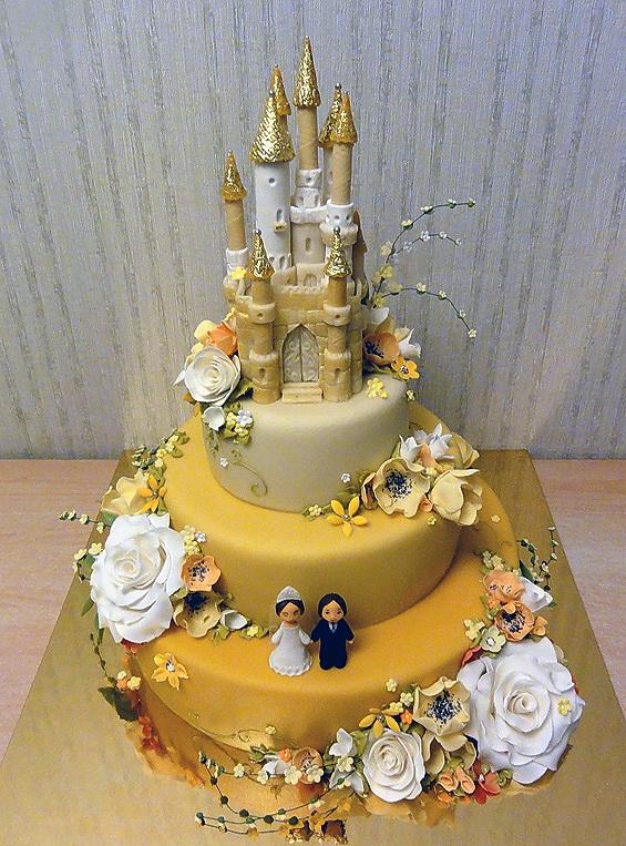 свадебные торты Жанны Зубовой 08