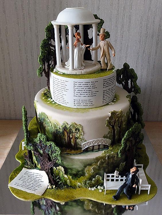 свадебные торты Жанны Зубовой 11