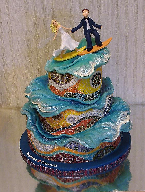 свадебные торты Жанны Зубовой 13