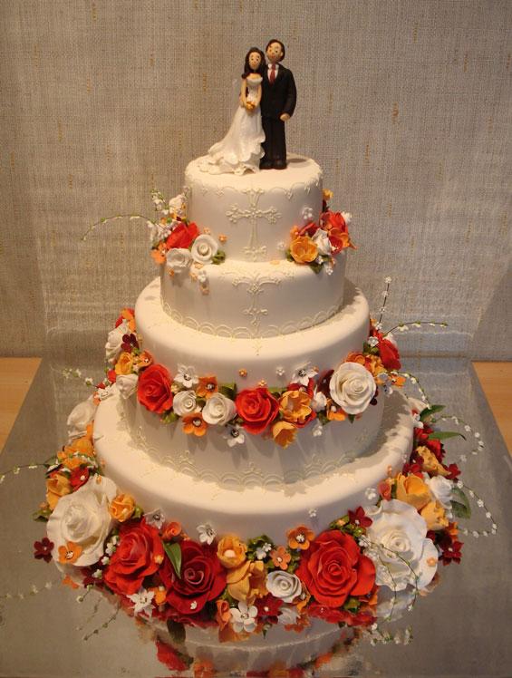 свадебные торты Жанны Зубовой 14