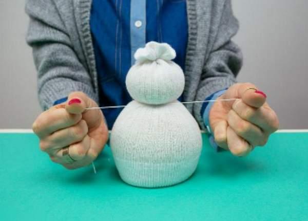 большие новогодние игрушки своими руками 2021, фото 4