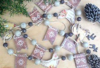 красивые новогодние гирлянды, фото 17