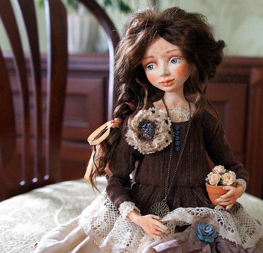 женщинах фото необычных кукол гуси были