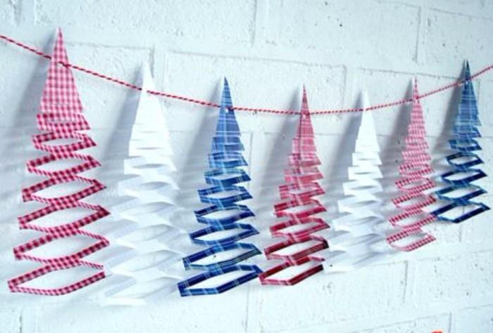 Новогодние бумажные гирлянды своими руками, фото 3