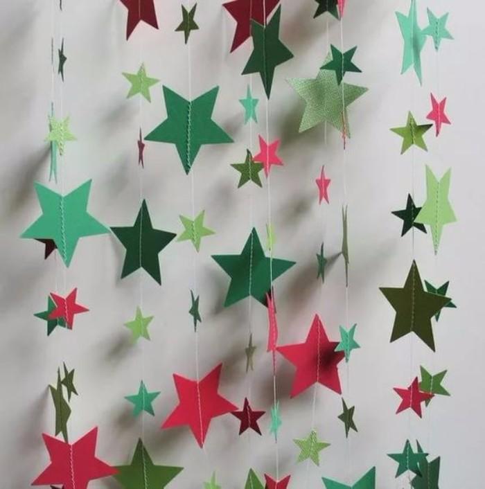 Новогодние бумажные гирлянды своими руками, фото 6