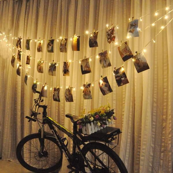 новогодние гирлянды для дома, фото 12