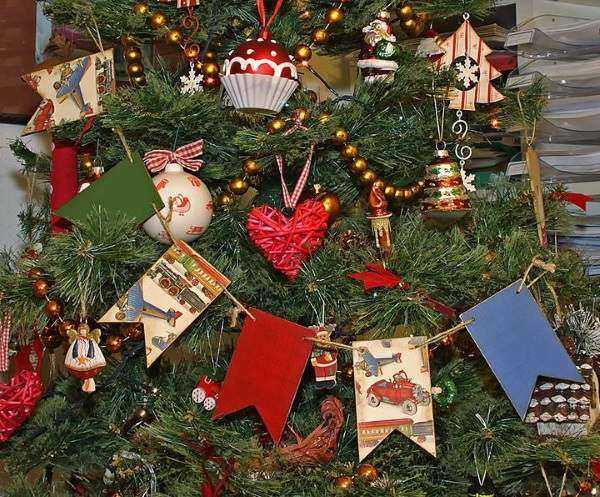 новогодние гирлянды для окон в детском саду, фото 4