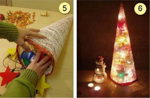 новогодние игрушки для улицы своими руками, фото 28