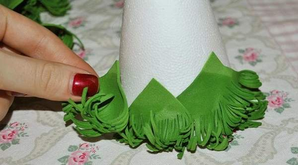 новогодние игрушки из фоамирана своими руками, фото 3