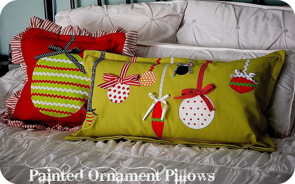 Новые подушки своими руками