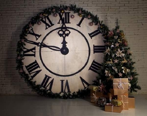 новогодняя игрушка часы своими руками, фото 33