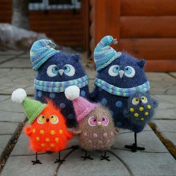 новогодняя игрушка сова своими руками, фото 11