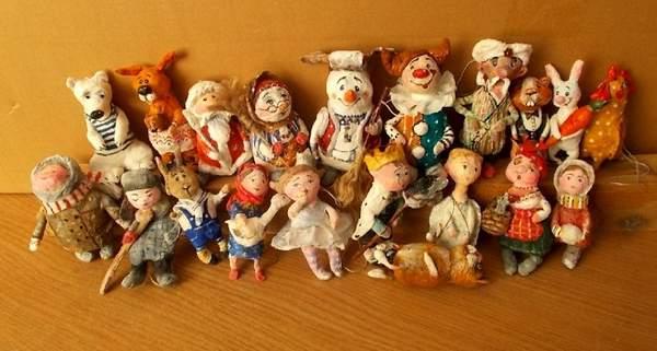 старинные новогодние игрушки своими руками, фото 37