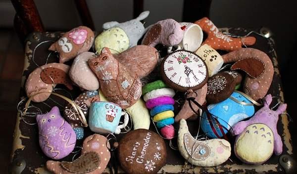 старинные новогодние игрушки своими руками, фото 43