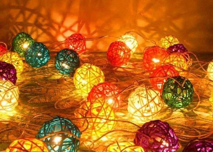 Светодиодные новогодние гирлянды своими руками, фото 31
