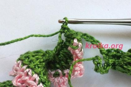 вязание отделаки