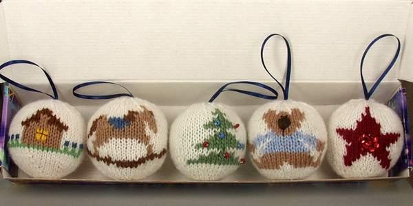 вязаные новогодние игрушки своими руками, фото 8