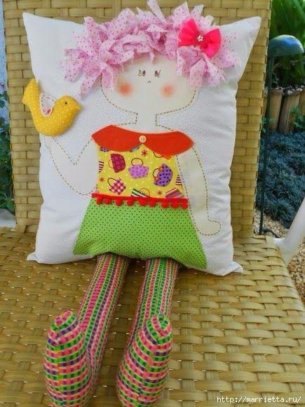 Детские подушки-куклы с росписью акриловыми красками (24) (435x580, 164Kb)