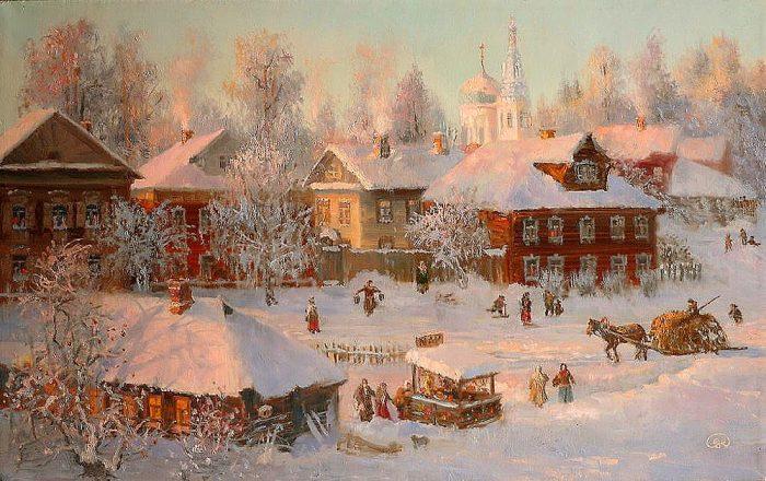 зима Владимир Жданов - 01