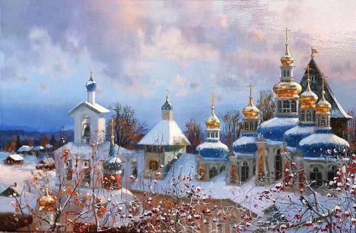 зима Владимир Жданов - 02